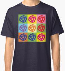 45 Record Holder Pop Art T-Shirt Classic T-Shirt