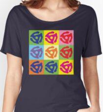 45 Record Holder Pop Art T-Shirt Women's Relaxed Fit T-Shirt