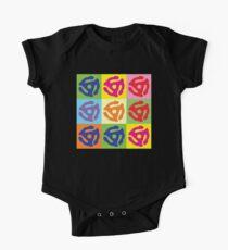 45 Record Holder Pop Art T-Shirt Kids Clothes