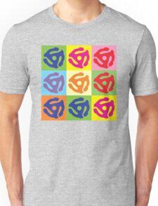 45 Record Holder Pop Art T-Shirt Unisex T-Shirt