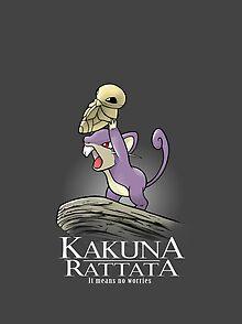 98413719 Rattata T-Shirts | Redbubble