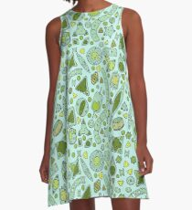 Tessellating Diatoms for skirts, duvets, notebooks, graphic tees etc A-Line Dress