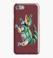 Chomp The Robo-Gator iPhone Case/Skin