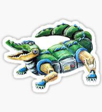 Chomp The Robo-Gator Sticker