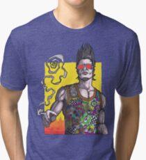 Fight Club #2 *69 dude Tri-blend T-Shirt