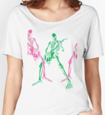 Skeleton Guitar Player 3 Women's Relaxed Fit T-Shirt