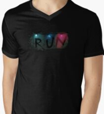 Stranger Things - RUN Men's V-Neck T-Shirt