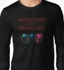 Stranger Things - Should I Stay or RUN? T-Shirt