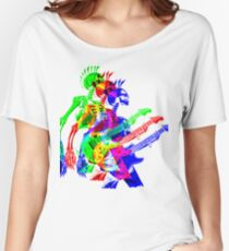 Skeleton Guitar Player 4 Women's Relaxed Fit T-Shirt