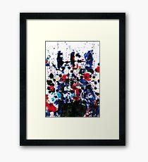 Cara africana Framed Print