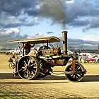 "Fowler 8-ton Steam Road Roller No.18874 ""Lord Jellicoe"" by Andrew Harker"
