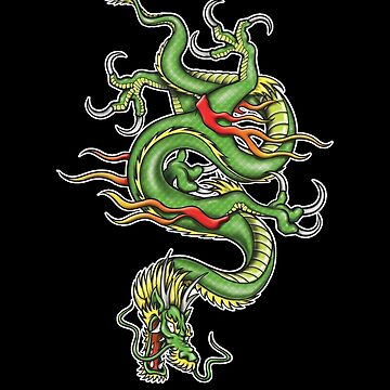 Chinese Tattoo Dragon by trev4000