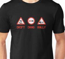 Drift Drag Rally (3) Unisex T-Shirt