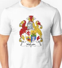 McLain Coat of Arms / McLain Family Crest T-Shirt