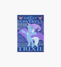 The Great and Powerful Trixie Art Board