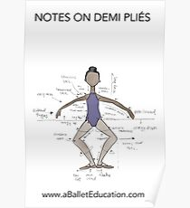 NOTES ON DEMI PLIES Poster
