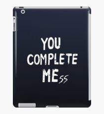 YOU COMPLETE MEss iPad-Hülle & Klebefolie