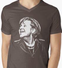 Angela Merkel Men's V-Neck T-Shirt
