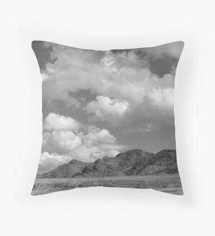 Snake Valley B&W Throw Pillow