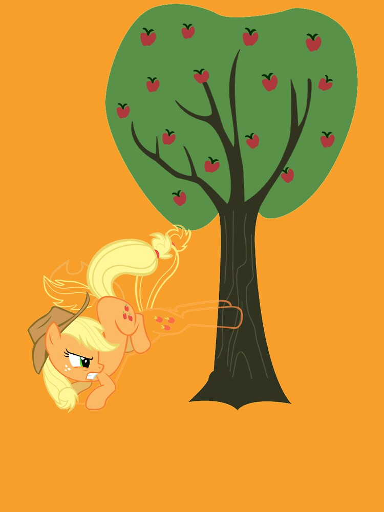 Applebucking Applejack by AssaultWithCake