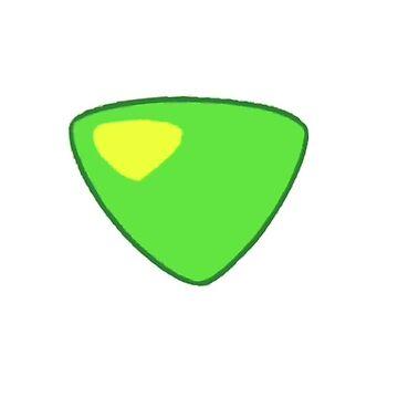 Peridot Gem Badge by whackanalien25