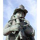 Fallen Firefighters Statue by Valeria Lee