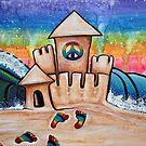 Hippie Sand Castle by Laura Barbosa