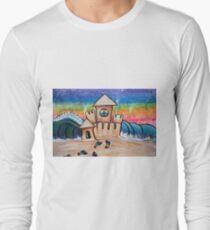 Hippie Sand Castle Long Sleeve T-Shirt