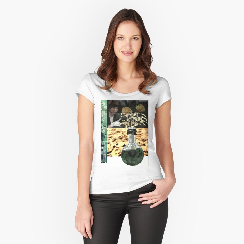 It's Chemical Women's Fitted Scoop T-Shirt Front