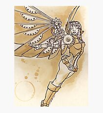 sTEAmpunk Angel Photographic Print