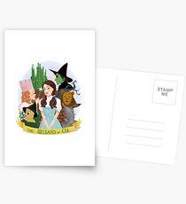 Der Zauberer von Oz Postkarten