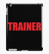 Trainer (Red) iPad Case/Skin