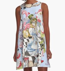 Alice In Wonderland A-Line Dress