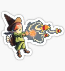 """The wizard casts """"Magic Missile"""" Sticker"""
