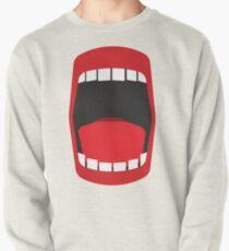 big open mouth   Pullover Sweatshirt