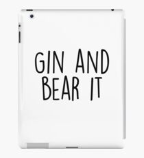 Gin and Bear it iPad Case/Skin