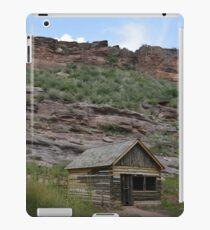 Cabin on bobcat ridge iPad Case/Skin