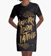 Die Bäume sprechen Latein T-Shirt Kleid