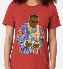 Camiseta de tejido mixto Biggie Smalls