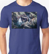 Blue hole falls Unisex T-Shirt