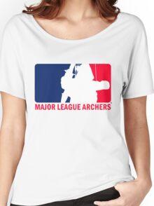Major League Archers Women's Relaxed Fit T-Shirt