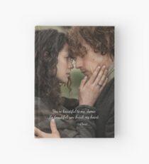 Cuaderno de tapa dura Outlander/Jamie Fraser/Quote from Diana Gabaldon