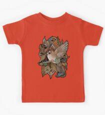 Clockwork Sparrow Kids Tee