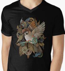 Clockwork Sparrow Men's V-Neck T-Shirt