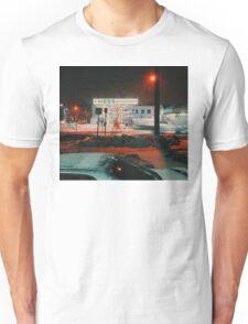 8:26, walking during a blizzard Unisex T-Shirt
