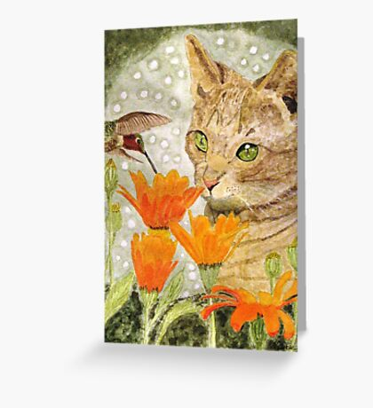 Eye To Eye Greeting Card