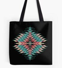 Native Style Southwest Beadwork Sunburst Tote Bag