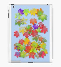 Falling Maple Leaves iPad Case/Skin