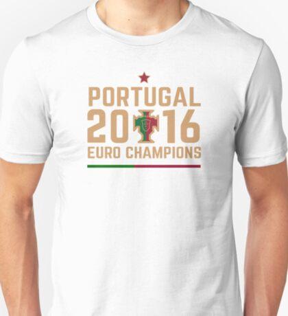 Portugal Euro 2016 Champions T-Shirts etc. ID-2 on White T-Shirt