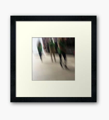 the ghosts that walk Framed Print
